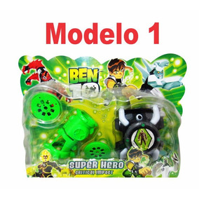 Set Ben 10 Super Hero Juegos En Blister Super Económico X2