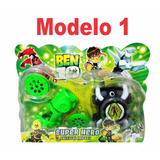 Set Ben 10 Super Hero Juegos En Blister Super Económico X5