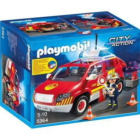 Playmobil 5364 Coche Bomberos Luces Y Sonido