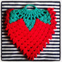 Tejidos Crochet: Agarraderas - Posapavas - Super Frutillas!