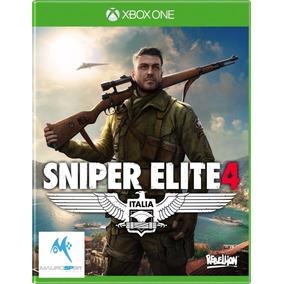Sniper Elite 4 - Xbox One - Disco Fisico