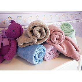 Cobertor Manta Bebe Infantil Microfibra/entrega Imediata