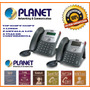 Teléfono Ip Planet 550pt-2 Lineas-3 Vias De Conferencia-lcd
