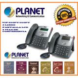 Teléfono Vo Ip Planet 550pt -2 Lineas-3 Vías De Conferencia