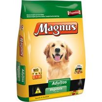 Ração Magnus Adulto Vegetais 25kg - Un Top