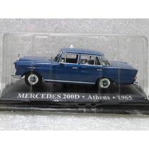 Mercedes 200d Athens 1965 Táxis Clássicos 1:43