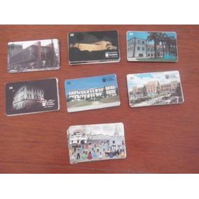 Telebrás Série Museus - 60 Cartões - R$1,49 Cada Cartão