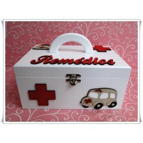 Caixa Porta Remédios Farmacia Comprimido Medicamento