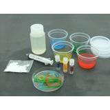 Material Didáctico - Kit Ciencia P/ Hacer Gusanos De Colores
