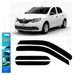 Calha De Chuva Renault Novo Logan 2014 A 2016 C-juros