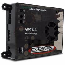 Modulo Amplificador Soundigital 600w Rms Sd600.1 2 Ohms