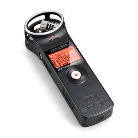 Gravador De Voz Zoom H1 Cartão 2gb Handy Recorder Digital