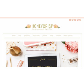 Template Wordpress - Blog Femenina