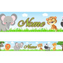 Faixa Decorativa Personalizada - Safari