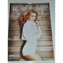 Kylie Minogue Calendario Oficial 2013 Nuevo Y Sellado
