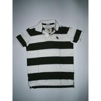 Camiseta Abercrombie & Fitch - Polo Listrada