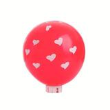 Balão Happy Day Nº11 Dec. Coração Verm Paixao C/12 Único
