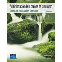 Administracion De La Cadena De Suministro Planeacion - Libro