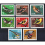 D D R 1973 Mi 1834/41** Yv 1531-38 Mint Aves Pájaros Fauna