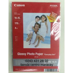 Papel Fotografico 4 X6 Canon Glossy 03 Hojas 275gr 4estre