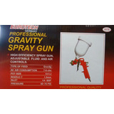 Pistola Para Pintar A Gravedad Eurotech Germany 600 Cm2