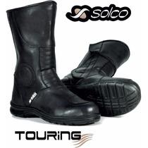 Botas Solco Touring Moto Impermeables Motoscba