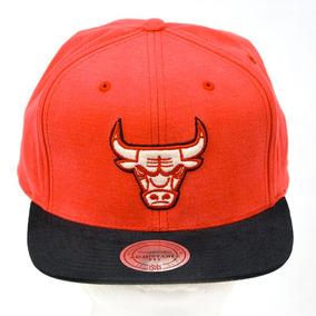 Chicago Bulls Nba Mitchell And Ness Gorra 100% Original 2