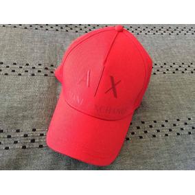 Excelente Gorra Roja Armani Exchange Ax Nueva Y Original