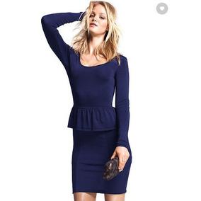 Victoria´s Secret Vestido De Vestir Talle S Azul