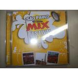 Cd - São Paulo - Mix - Festival 2007 - Nacional - Usado