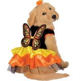 Disfraz Traje Hermoso De La Mariposa Para Los Animales Domé
