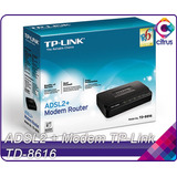 Modem Tp-link Adsl2+ Td-8616 Banda Ancha Internet