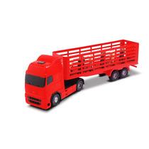 Caminhão Carreta Voyager Boiadeiro - Roma - 1350 Vermelho 39