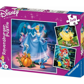 Ravensburger Rompecabezas Disney Princesas 3x49 Pz 09339