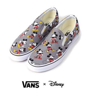 Zapatillas Vans Disney Mickey Mouse. Originales E Importadas