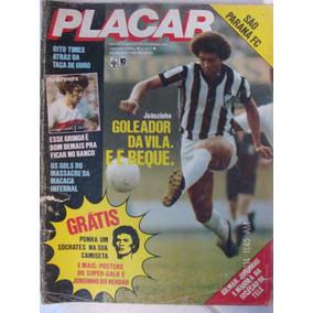 Revista Placar N- 517 Santos São Paulo Paraná Telé Seleção