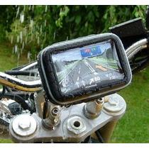 Soporte De Celular Gps Impermeable Motocicleta Bmw Funda