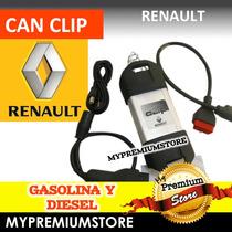 Escaner Diagnostico Automotriz Can Clip Toda Linea Renault
