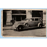 Foto Postal De Santiago - Vehiculo Antiguo.