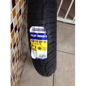 Pneu Michelin Pilot Road 4 120/70-17 58w Frete Gratis