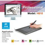 Tablero Digital Profesional Huion H610