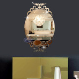 Espelho Decorativo Veneziano Acrílico Espelhado Com Gravação