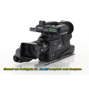 Manual Em Português Panasonic Ag-ac7