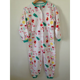Pijama Macacão Flanelado Da Hering
