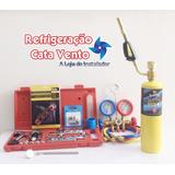 Kit Ferramentas P/ Refrigeração Sem Bomba De Vácuo Básico