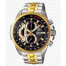 Relógio Casio Edifice Ef-558sg-1av Garantia De 02 Anos