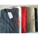 Camiseta Camisa Masculina Gola Redonda Malha Kit 10 Peças