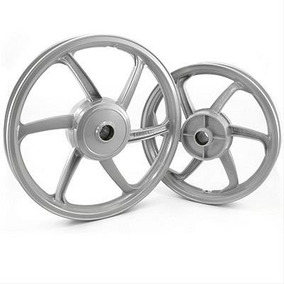 Roda Esportiva Prata (modelo Sport Mix) Titan 150 (disco) Fa