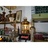 Antiguo Farol De Barco De Cobre Y Bronce!! Imperdible!!!