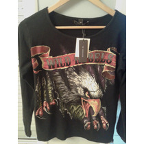 Hot Sale !!! Kosiuko Remera Rebels Wild
